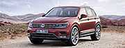 """World Car of the Year""-Wahl 2017: Tiguan unter den drei Finalisten"